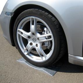 Cales de protection pour pneus et roues de voitures / Tyreguard Argent