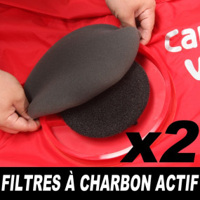 Filtres à charbon actif Carcoon pour abris gonflables