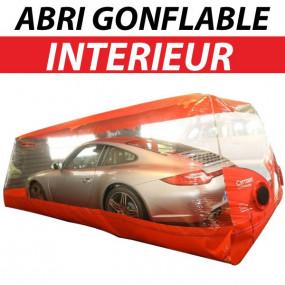 Abri protection gonflable intérieur pour voitures - Carcoon Evo