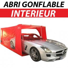 Abri protection gonflable intérieur à armature métallique pour voitures - Carcoon Veloce