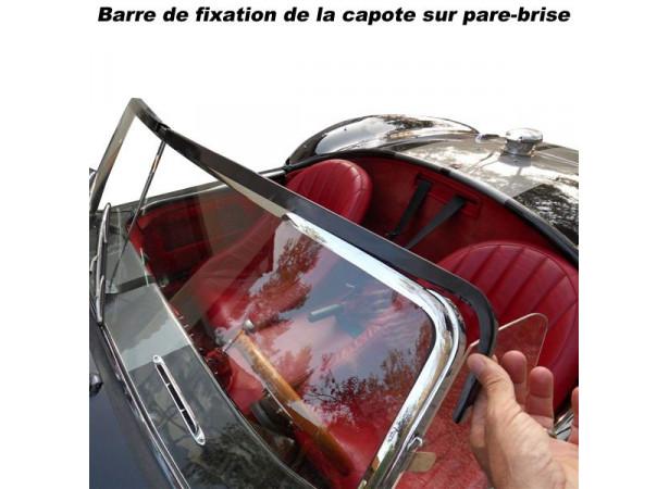 Capote AC Cobra cabriolet en Vinyle