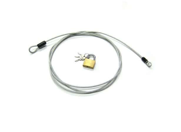 Câble antivol gainé 230cm (85101)