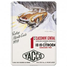 Publicité vintage en relief 30x40