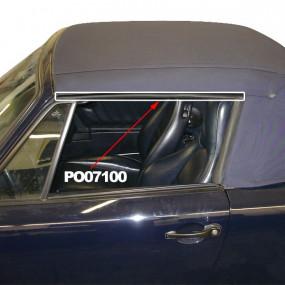 Joints étanchéité pour vitre de porte de cabriolet Porsche 911 de 1983 à 1996