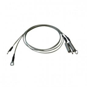 Câble latéral de tension pour capote Saab 900 SE cabriolet