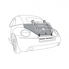 Porte-bagages Volkswagen New Beetle cabriolet - Classic Carriers