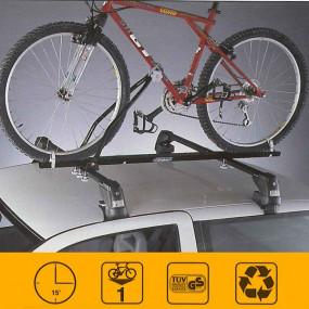 Porte-vélo universel pour cabriolets/coupés équipés de barres transversales