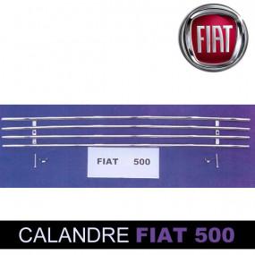 Grilles de calandre pour Fiat 500 cabriolet (tube)