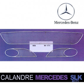 Grilles de calandre pour Mercedes SLK R171 cabriolet (2003/2008)