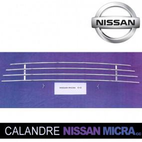 """Grilles de calandre """"Tube"""" pour Nissan Micra CC cabriolet (05+)"""