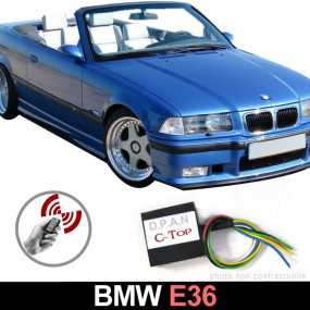 Commande de toit à distance par clé origine pour Bmw E36 (C-TOP - TEL)
