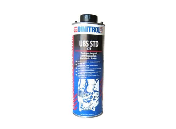 Insonorisant pour dessous de caisse noir DINITROL 478 - 1L