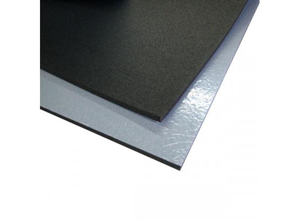 Insonorisant en mousse polyéthylène en plaque adhésive - 1mx0.5m
