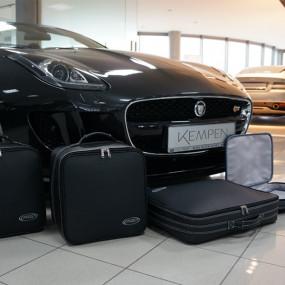 Bagagerie sur mesure cuir pour Jaguar F-Type cabriolet