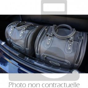Bagagerie sur mesure cuir pour Bmw F12 Serie 6 cabriolet - 4 pièces