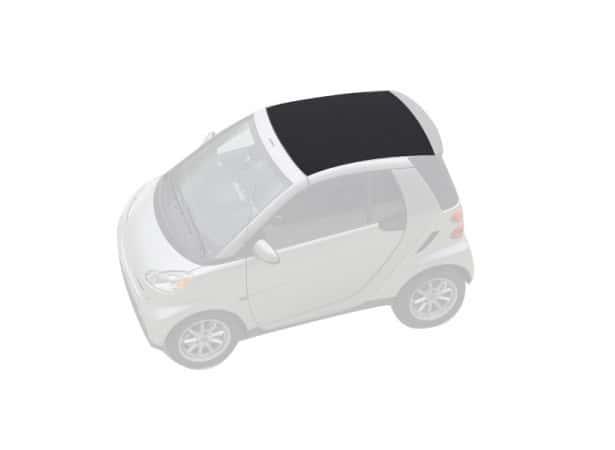 capote avant smart fortwo 451 apres 2008 cabriolet en alpaga sonnenland a. Black Bedroom Furniture Sets. Home Design Ideas