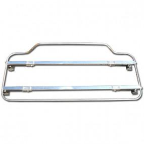 Porte-bagages Inox ou acier noir azur - 107x41cm