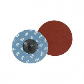 """Disques abrasifs à changement rapide """"Twist Button"""" 75 mm (3 grains)"""