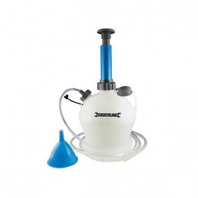 Pompe manuelle de vidange huile et eau 4 L