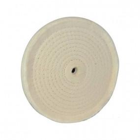 Disque de polissage couture en spirale