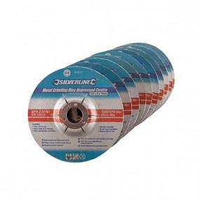 Disques à meuler le métal Ø100 mm (par 10)