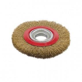 Brosse métallique circulaire pour touret Ø150 mm
