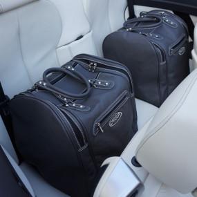 Bagagerie sur mesure cuir pour Bmw F12 Serie 6 cabriolet - 2 pièces