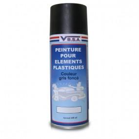 Peinture pour plastiques gris foncé 400 ml