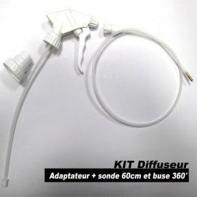Kit diffuseur avec adaptateur, sonde et buse