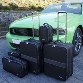 Bagagerie sur-mesure cuir pour Ford Mustang de 2005 à 2014