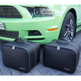 Bagagerie sur-mesure cuir pour Ford Mustang 2005-2014