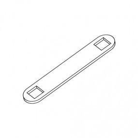Plaquette bloque boulon TRCC - Ø 6mm