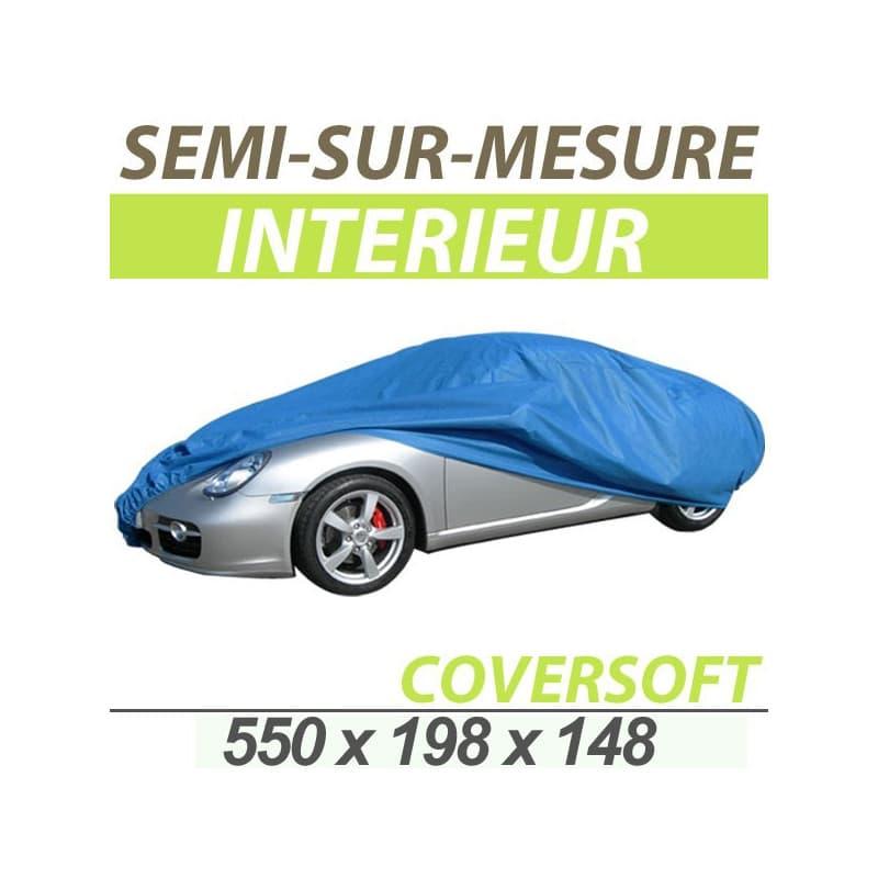Housse voiture bache protection auto semi sur mesure for Housse auto sur mesure