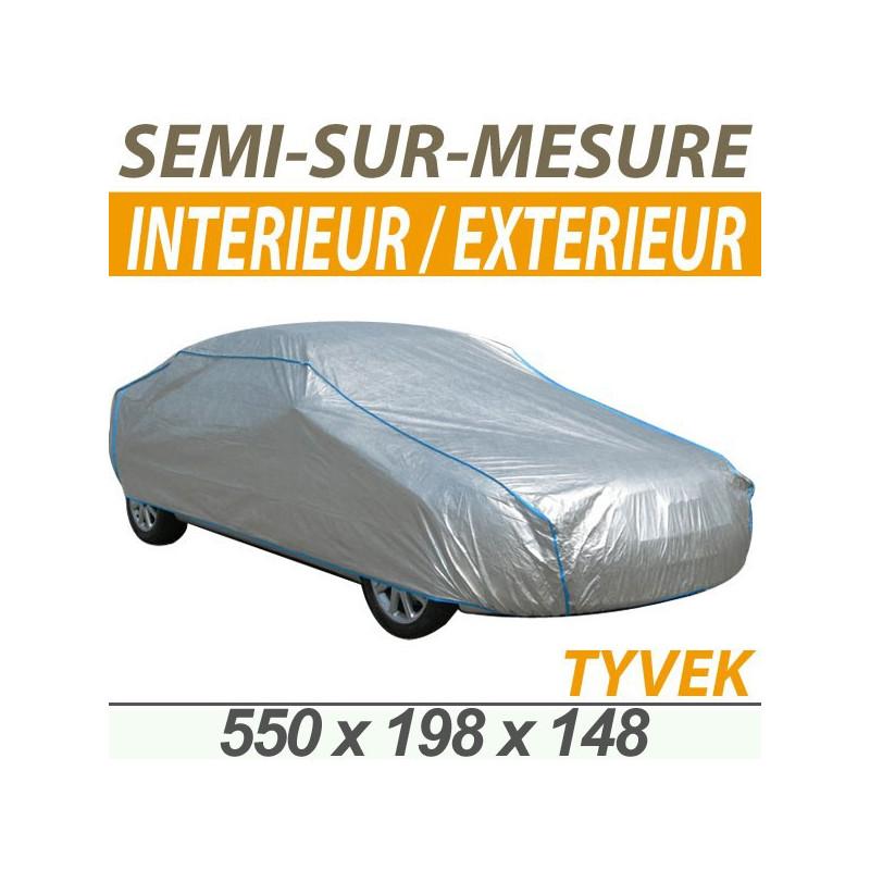 Bache voiture housse protection auto semi sur mesure - Housse de protection sur mesure ...