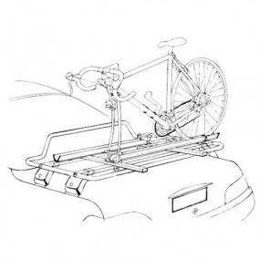 Porte vélo pour barres de toit et porte-bagages