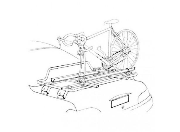 Porte vélo pour barres de toit et porte bagage