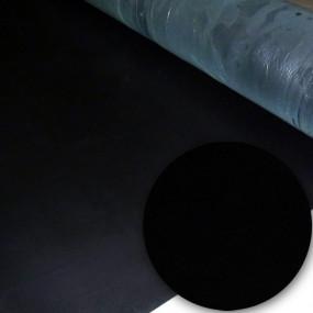 Tapis de sol en caoutchouc compact SBR noir - 3mm d'épaisseur