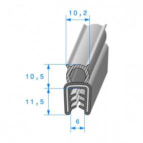 Joint coffre armé - 10.2 x 11.5 mm