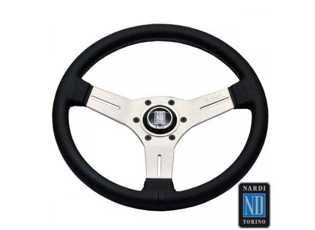 Volant en cuir perforé Competition Line (Nardi) - 6070.33.1091