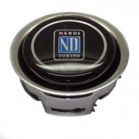 Bouton klaxon Ø62mm 1 contact pour volant Nardi