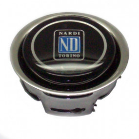 Bouton klaxon Ø62mm 2 contacts pour volant Nardi