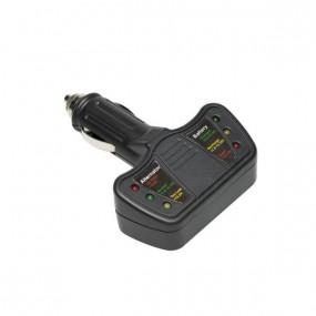 Testeur de batterie et de circuit de charge 12 volts