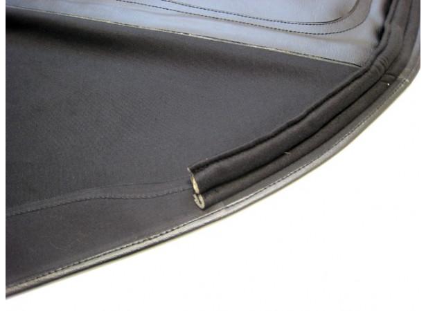Capotes auto Alfa Romeo Touring 2000 cabriolet coton double face Pininfarina avec lunette arriere en PVC