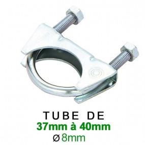 Collier d'échappement pour serrage de 37 à 40mm