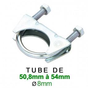 Collier d'échappement pour serrage de 50,8mm à 54mm