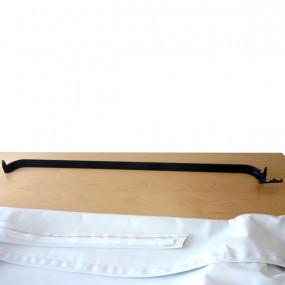 Barre avant de capote pour Mini Moke Portugaise/Cagiva de 1986 à 1995