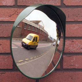 Miroir de sécurité sortie de garage ou parking ø 30cm