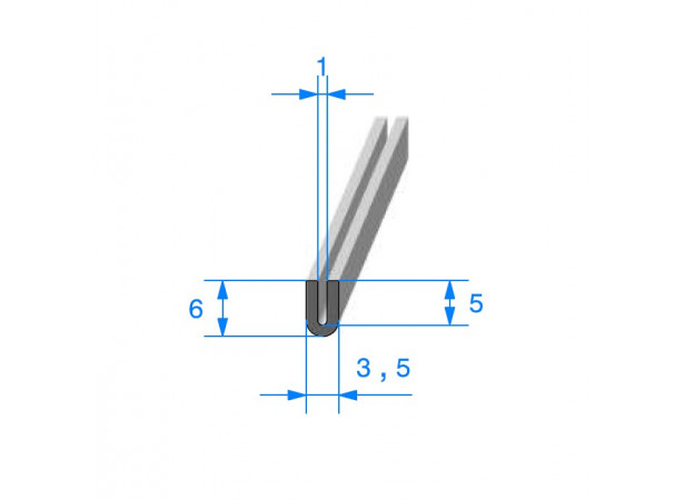 Joint finition en U (27120)