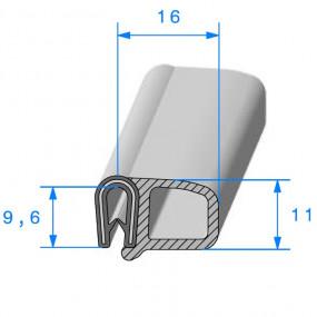 Joint porte armé - 16 x 9.6 mm