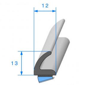 Joint de porte auto - 12 x 13 mm